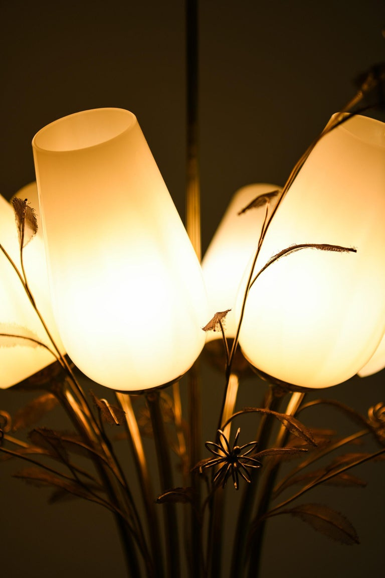 Paavo Tynell Ceiling Lamps Produced by Taito Oy in Finland For Sale 4