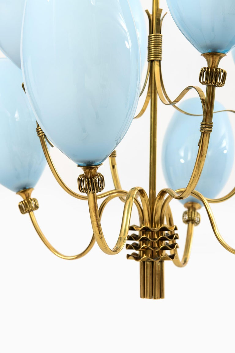 Scandinavian Modern Paavo Tynell Ceiling Lamps Produced by Taito Oy in Finland For Sale