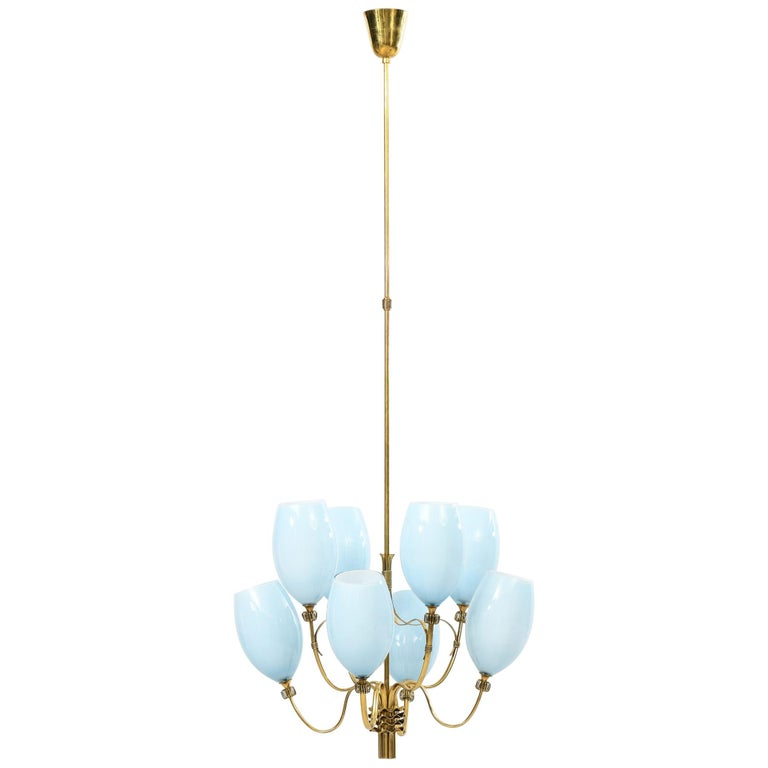 Paavo Tynell Ceiling Lamps Produced by Taito Oy in Finland For Sale