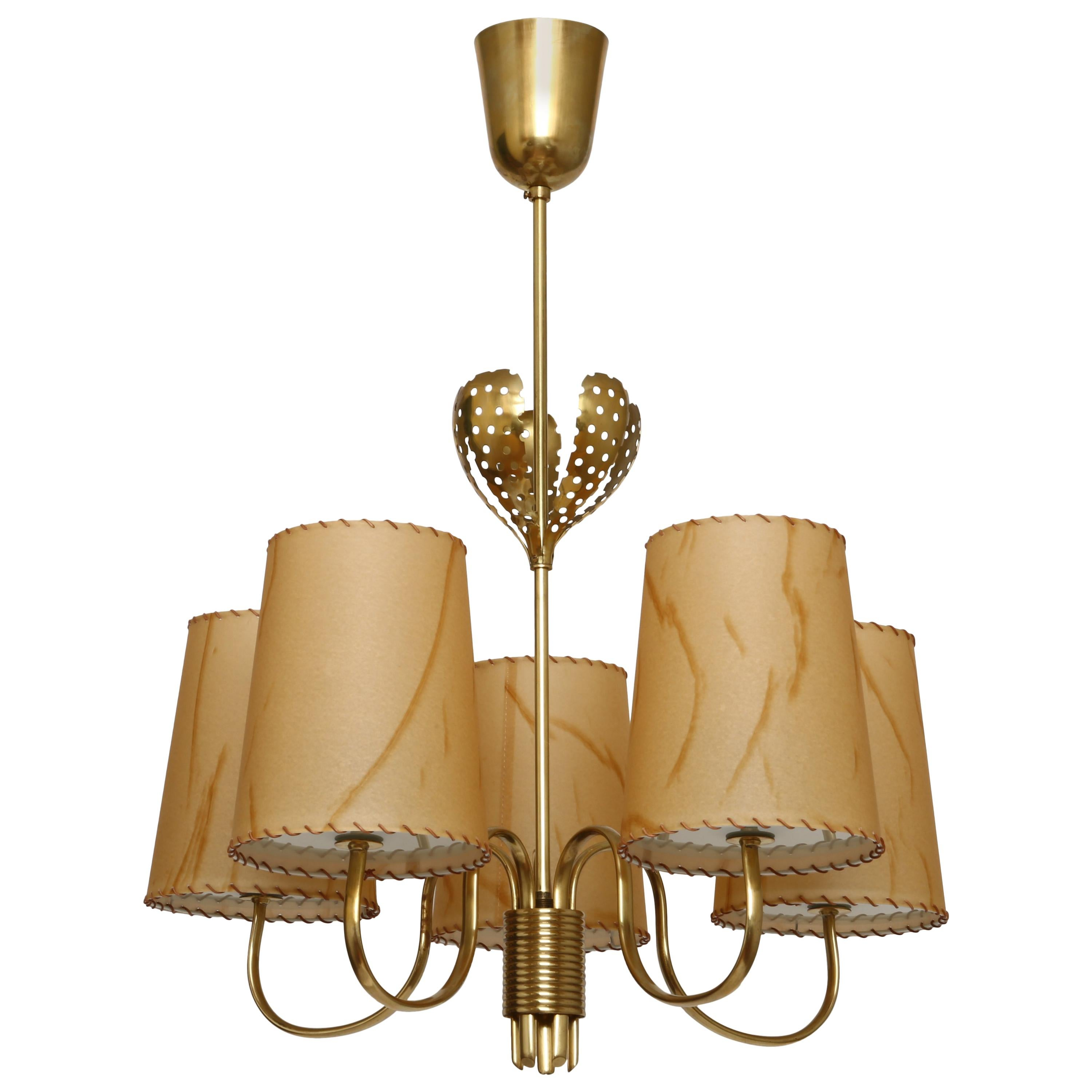 Paavo Tynell Chandelier for Taito Oy