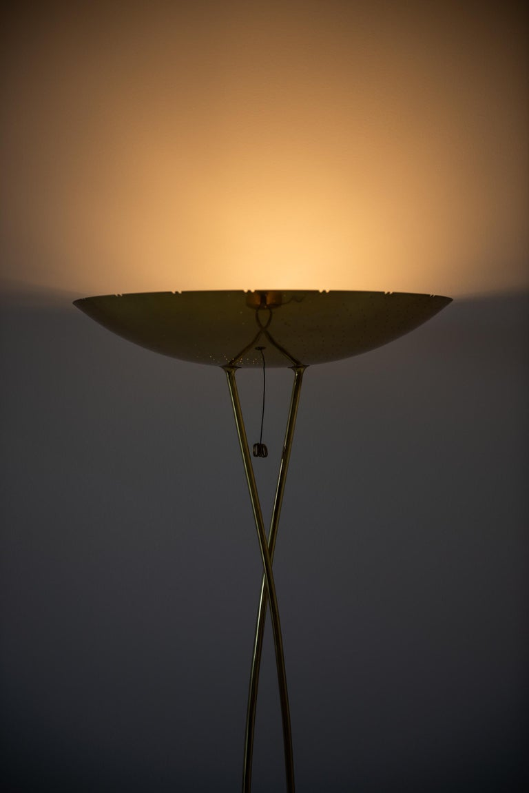 Paavo Tynell Floor Lamps Model 10506 Produced by Taito Oy in Finland For Sale 2