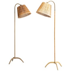 Paavo Tynell Floor Lamps Produced by Taito Oy in Finland