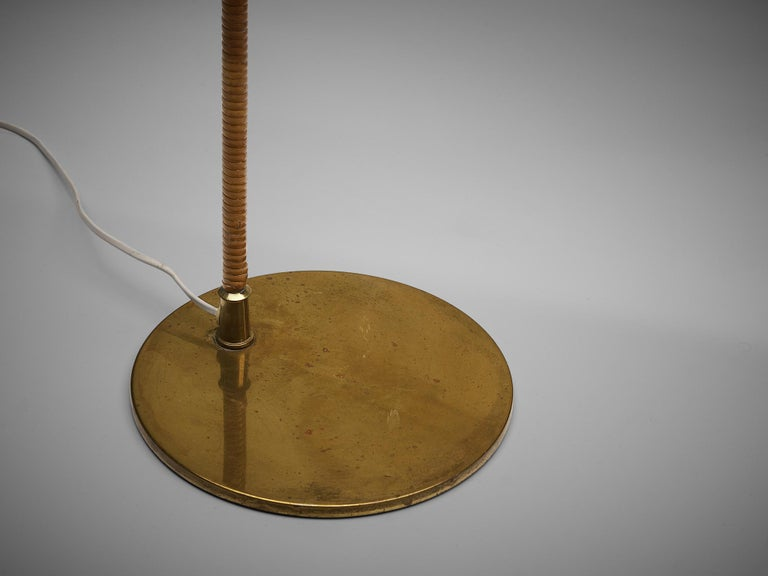 Mid-20th Century Paavo Tynell for Taito Rare Floor Lamp 'K10' For Sale