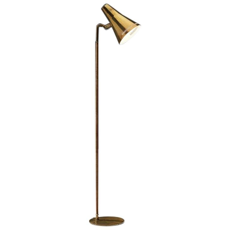 Paavo Tynell for Taito Rare Floor Lamp 'K10' For Sale