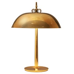 Paavo Tynell for Taito Oy Table Lamp Model 9211 in Brass