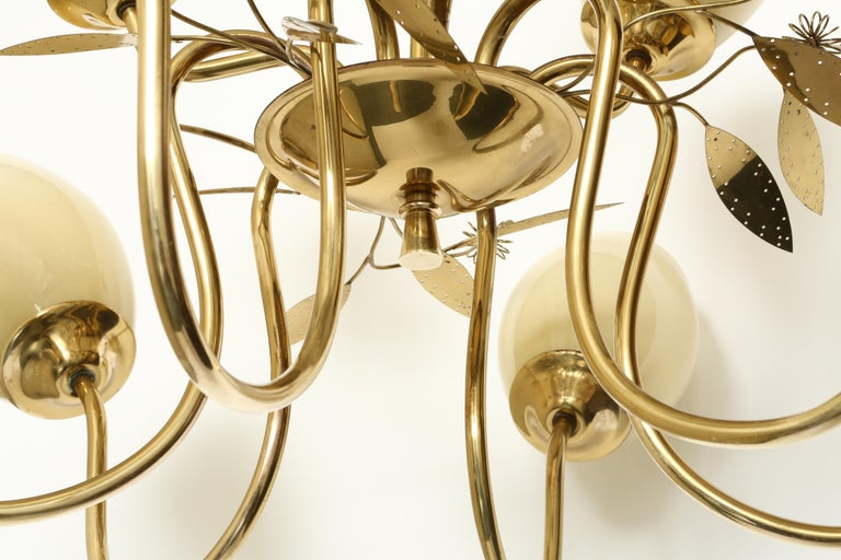 Paavo Tynell Style Chandelier by Itsu For Sale 4