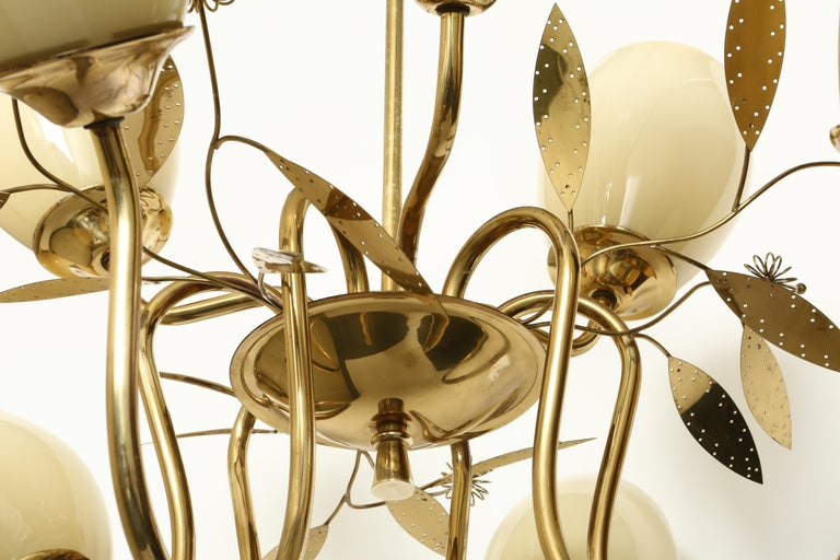 Paavo Tynell Style Chandelier by Itsu For Sale 5