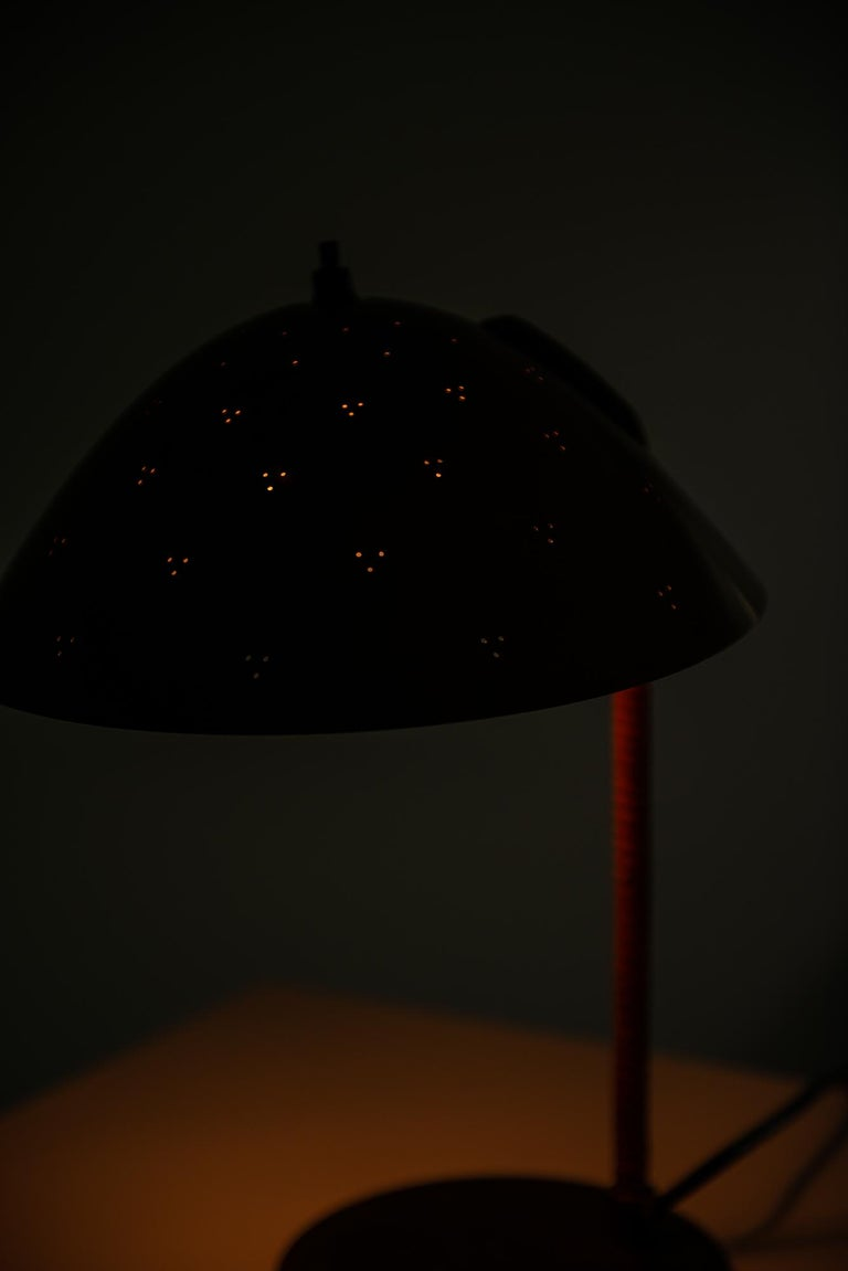 Mid-20th Century Paavo Tynell Table Lamp Model Kypärä by Taito in Finland For Sale