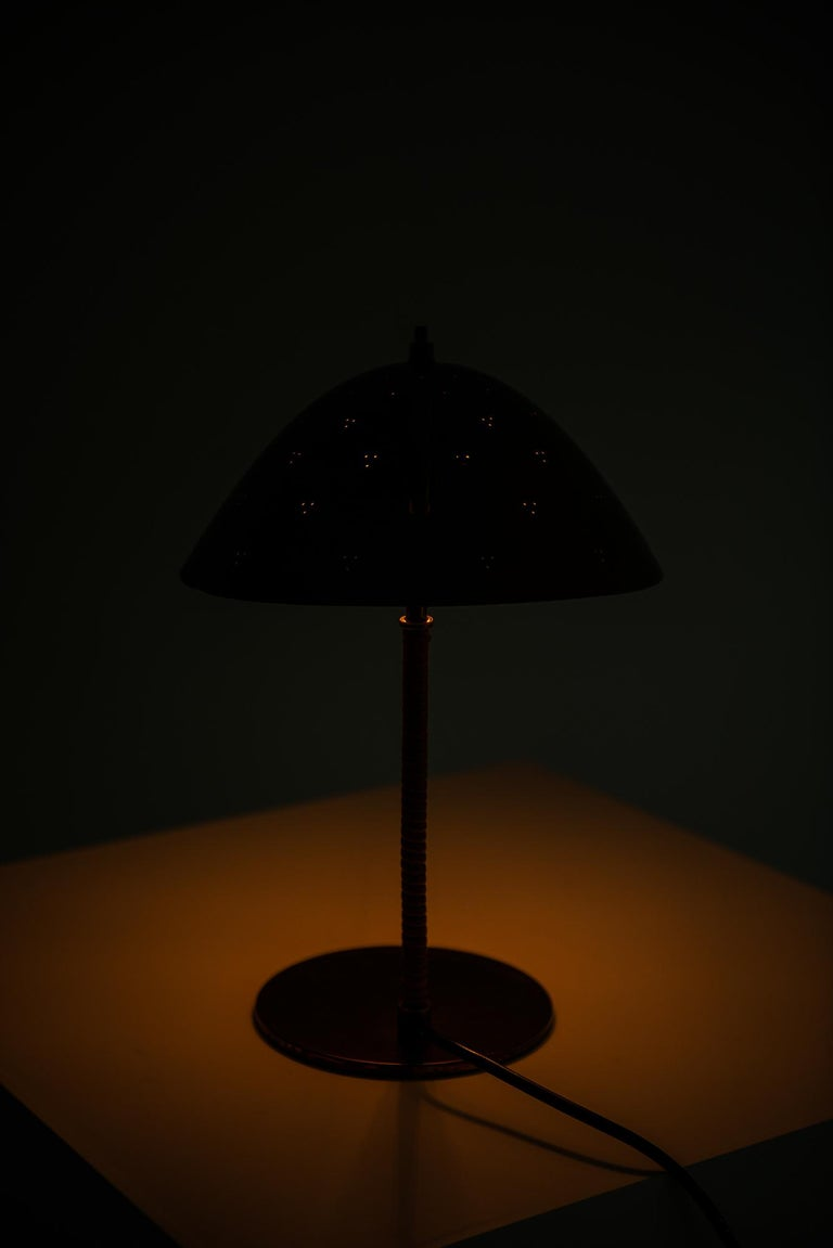 Paavo Tynell Table Lamp Model Kypärä by Taito in Finland For Sale 2