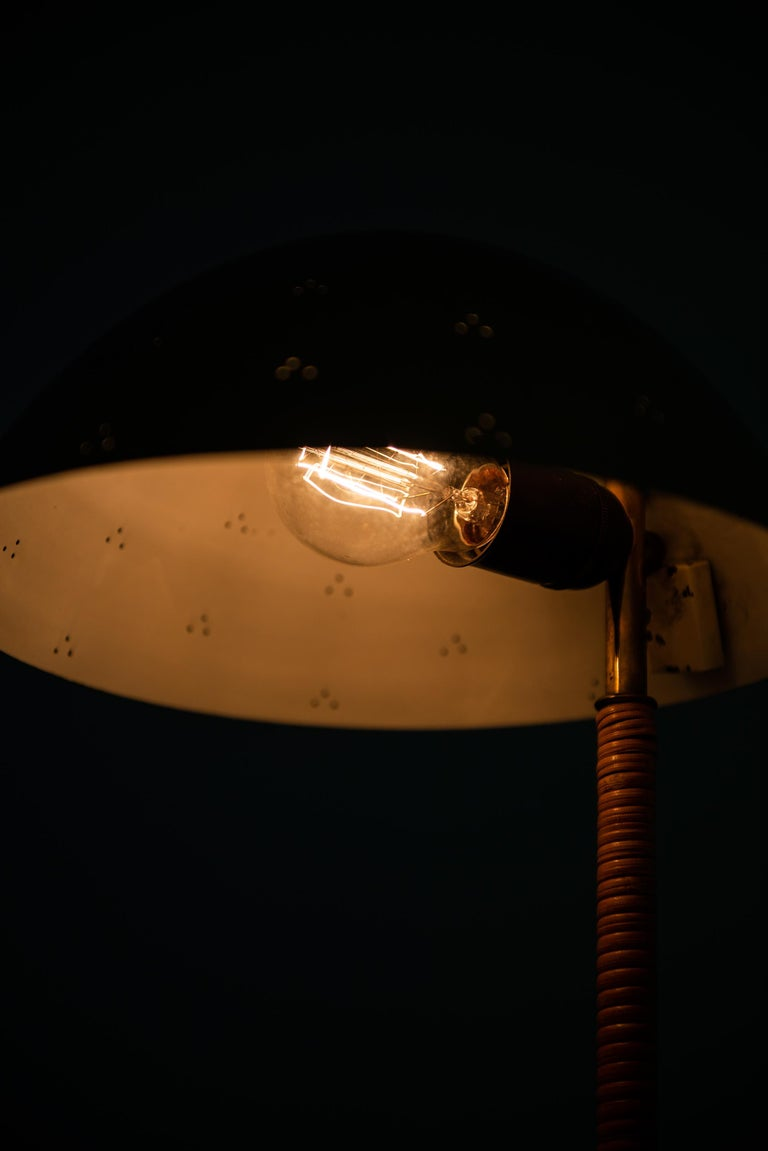 Brass Paavo Tynell Table Lamp Model Kypärä by Taito Oy in Finland For Sale