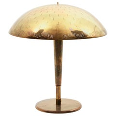 "Paavo Tynell Table Lamp Model ""Umbrella"" Manufactured by Taito Oy Finland, 1940"