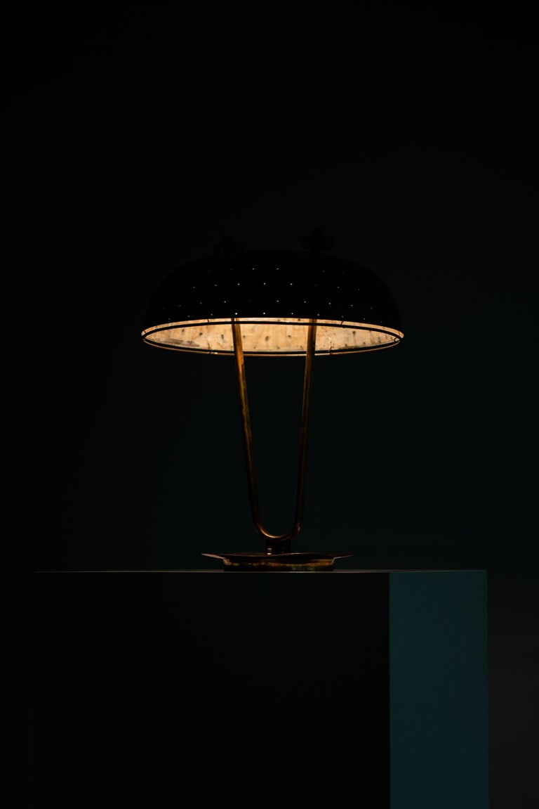 Paavo Tynell Table Lamp Produced by Taito Oy in Finland For Sale 8