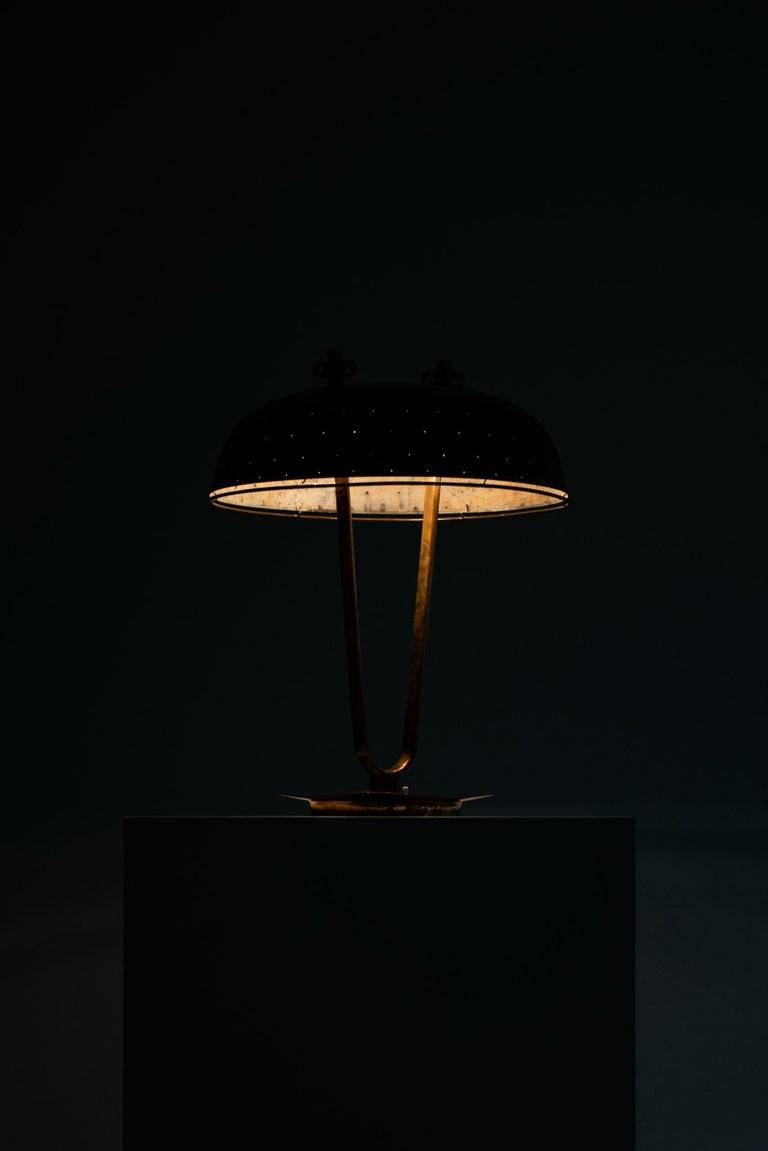 Paavo Tynell Table Lamp Produced by Taito Oy in Finland For Sale 11