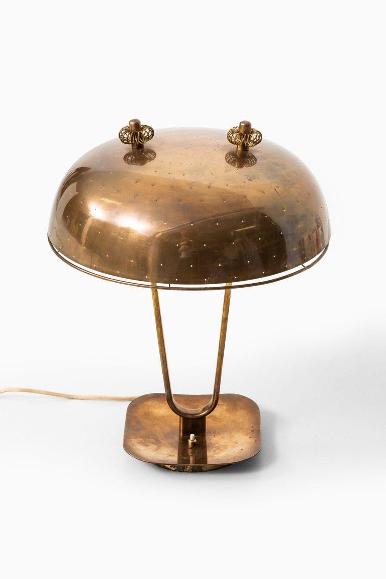 Paavo Tynell Table Lamp Produced by Taito Oy in Finland For Sale 1