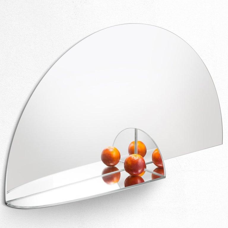 Italian Pablo Mirror by Marco Brunori by Adele C For Sale