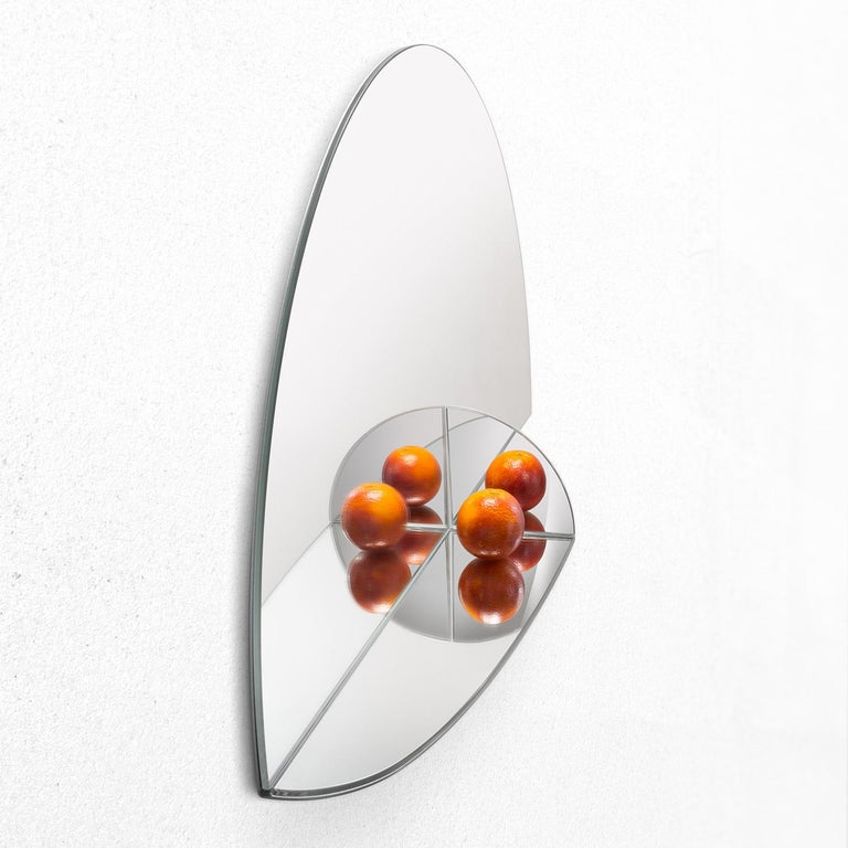 Pablo Mirror by Marco Brunori by Adele C In New Condition For Sale In Milan, IT
