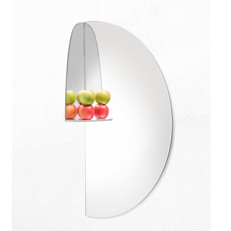 Contemporary Pablo Mirror by Marco Brunori by Adele C For Sale