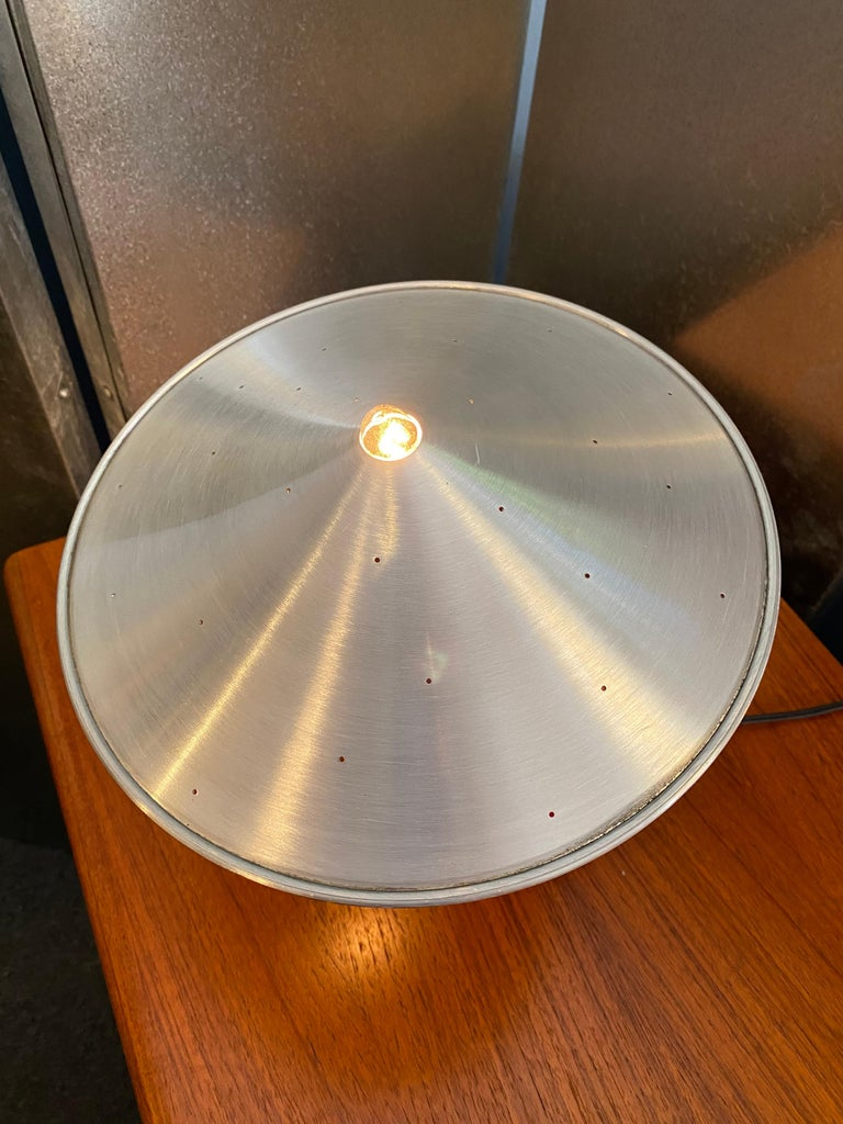 Aluminum Pablo Pardo Piccola Bean Bag Table Lamp For Sale