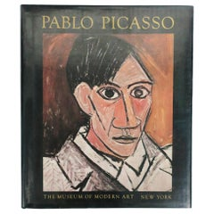 Pablo Picasso, a Retrospective, Library or Coffee Table Book, 1980 New York