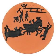 Pablo Picasso Arrastro A.R. 431 Limited Edition Ceramic Dish No. 14/50