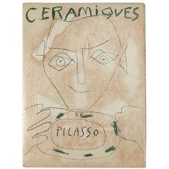 Pablo Picasso, Ceramiques de Picasso, First Edition, 1948