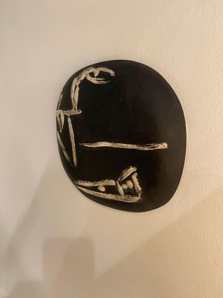 Mid-Century Modern Pablo Picasso for Madoura Plate