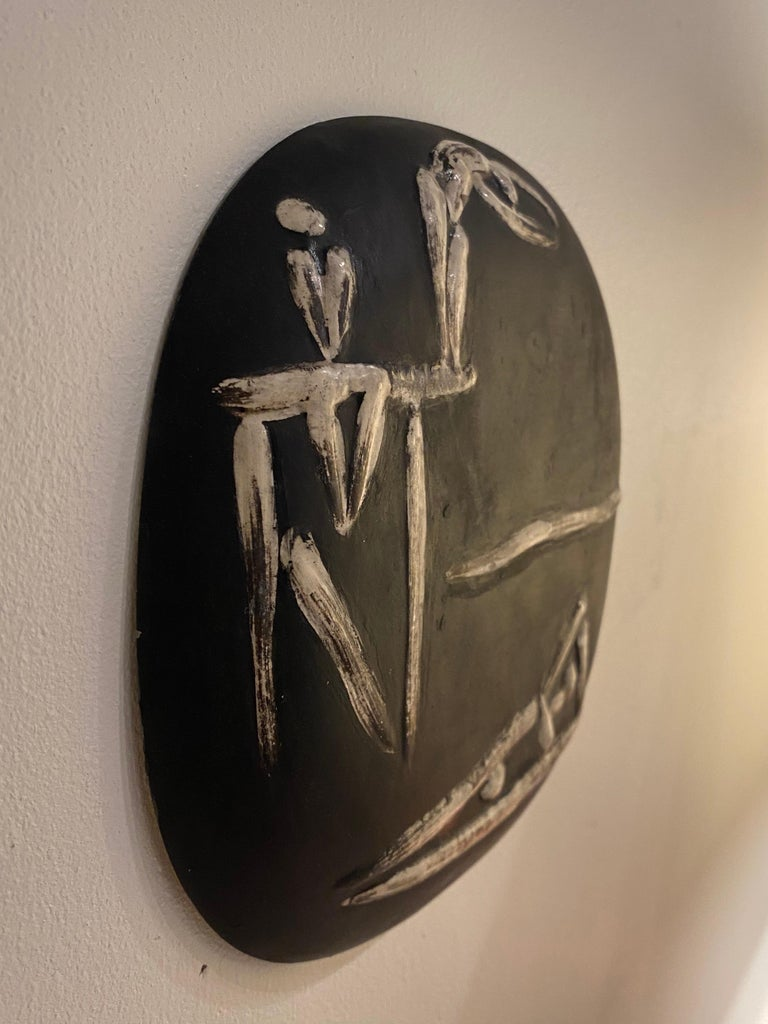 Mid-20th Century Pablo Picasso for Madoura Plate