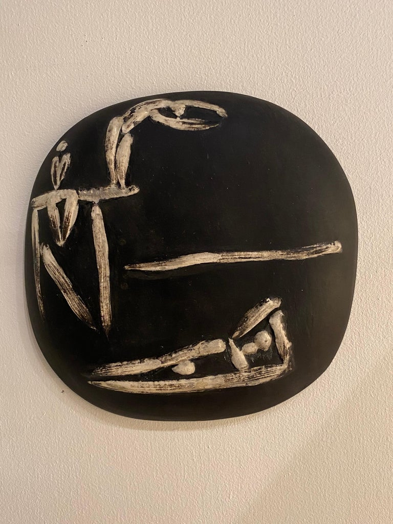 Ceramic Pablo Picasso for Madoura Plate