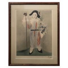 Pablo Picasso Harlequin 1950s Lithograph