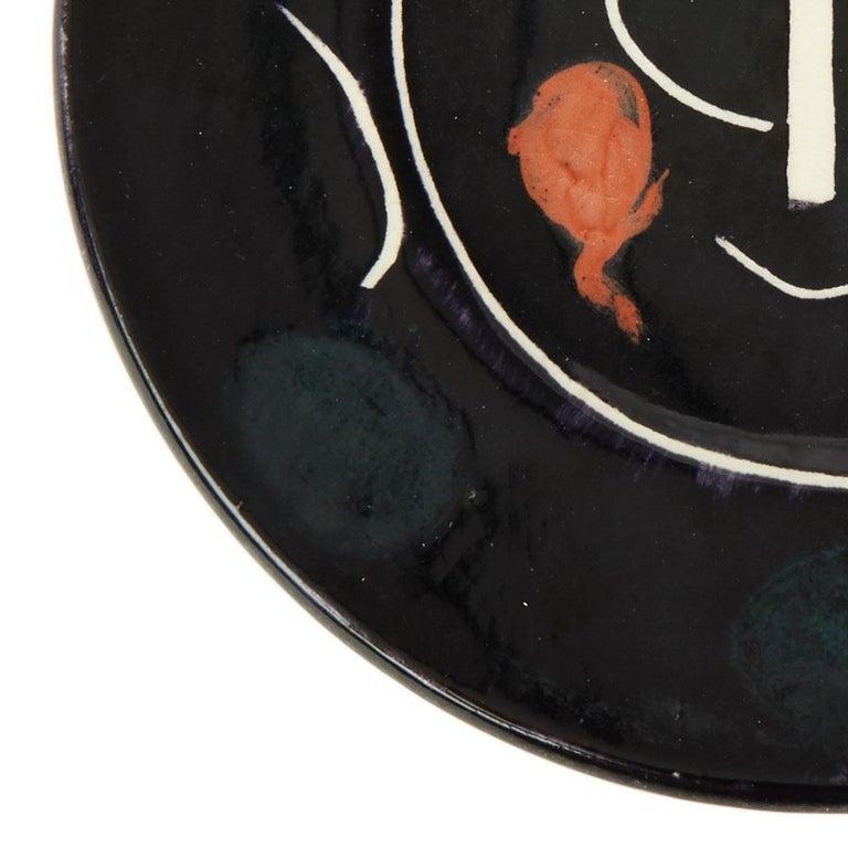 e4cd043552d Mid-Century Modern Pablo Picasso Ltd Edition Service Visage Noir Plate