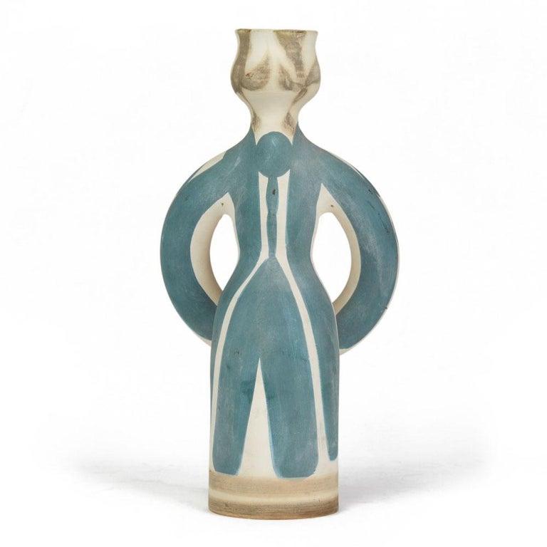 Mid-Century Modern Pablo Picasso Ltd Edn Lampe Femme Vase, circa 1955 For Sale