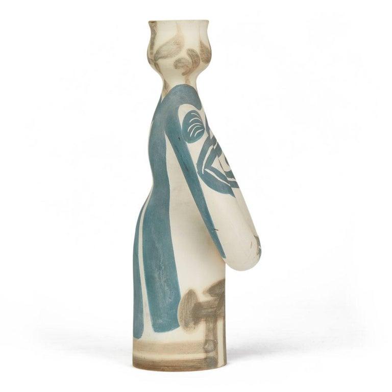 French Pablo Picasso Ltd Edn Lampe Femme Vase, circa 1955 For Sale