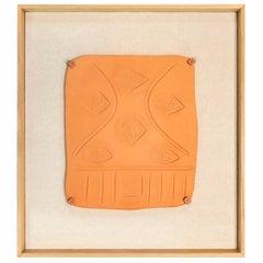 """Pablo Picasso Madoura, """"Visage aux courbes"""", Edition Madoura, 1971"""