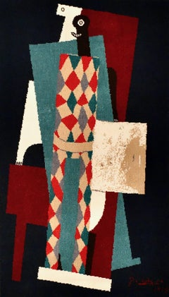 Picasso Succession Limited Edition, Arlequin, 1915,  Museum of Modern Art NY.
