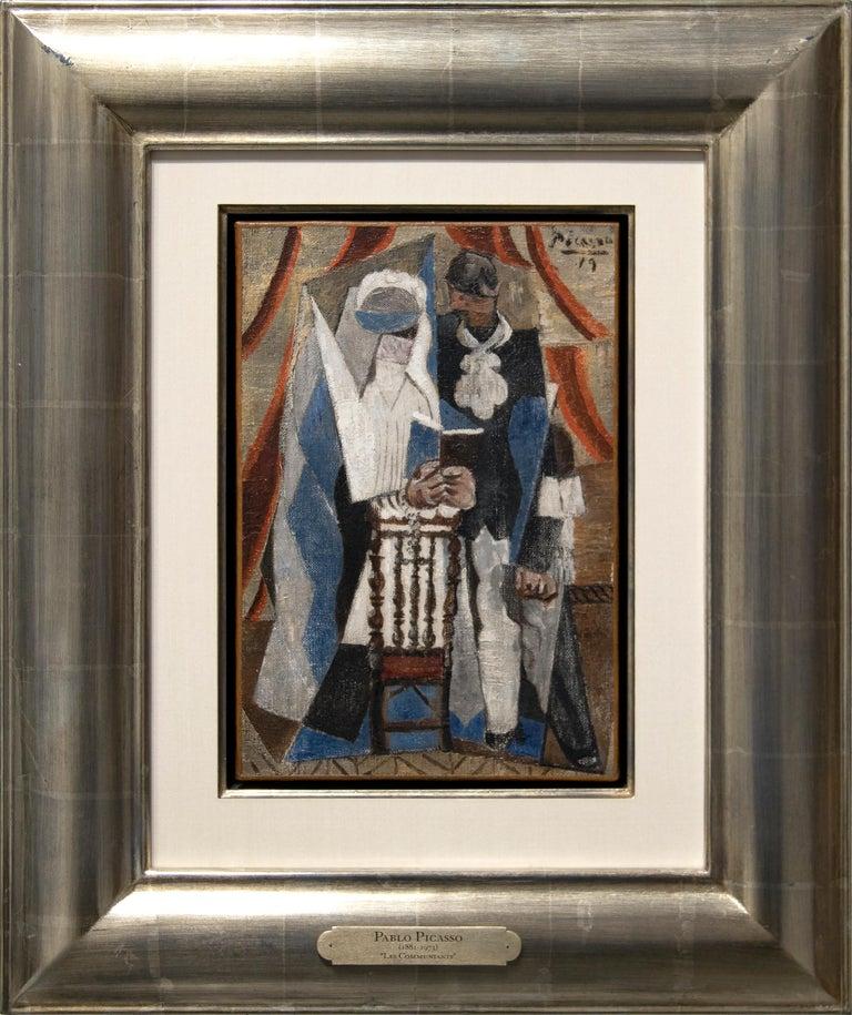 Les Communiants - Painting by Pablo Picasso