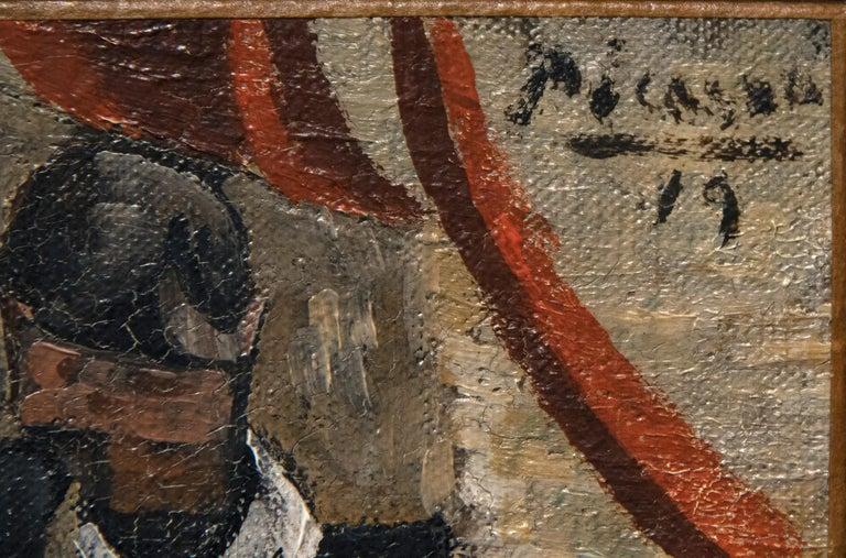 Les Communiants - Cubist Painting by Pablo Picasso