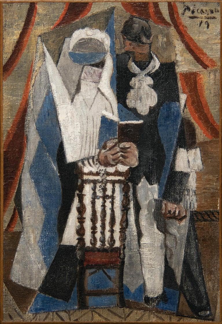 Pablo Picasso Figurative Painting - Les Communiants