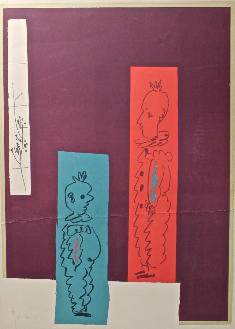 Rare poster for the 1962 NYC multi gallery celebration of Picasso's work.