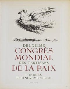 1959 After Pablo Picasso 'Deuxieme Congres Mondial des Partisans' Cubism