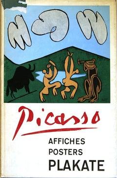 1963 After Pablo Picasso 'Werkverzeichnis der Plakate, Pablo Picasso Posters'