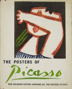 1964 After Pablo Picasso 'The Posters of Picasso' Cubism Multicolor Book