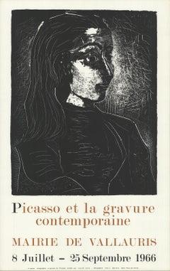 1966 After Pablo Picasso 'Gravure Contemporaine' France Serigraph