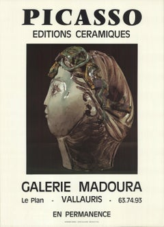1970 Pablo Picasso 'Galerie Madoura I' Photography France Offset Lithograph