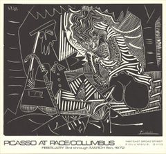 1972 After Pablo Picasso 'Luncheon on the Grass (white)' Cubism  USA
