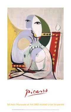2002 After Pablo Picasso 'Woman in an Armchair' Cubism