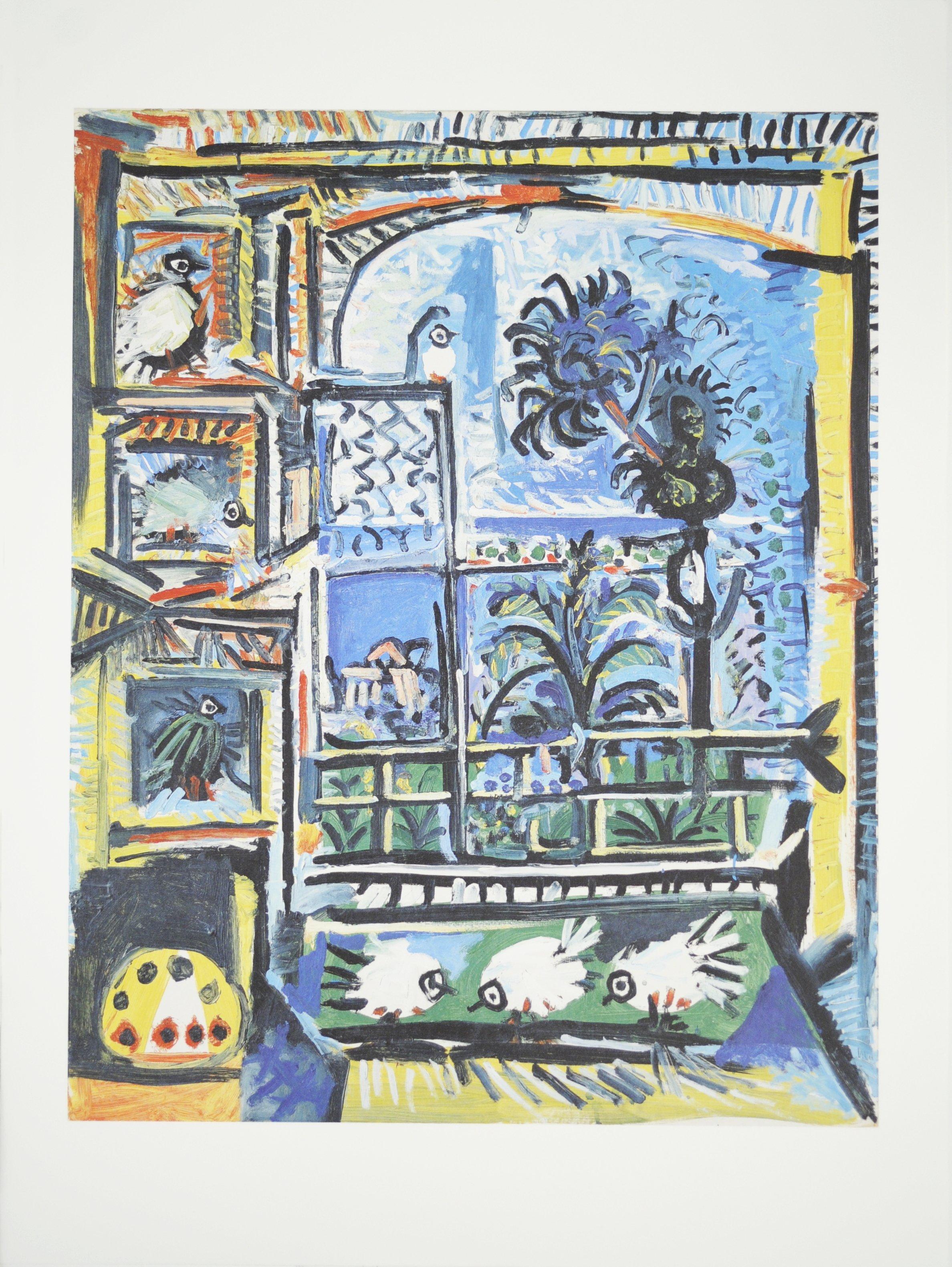 2012 Pablo Picasso 'Les Pigeons' Cubism Germany Offset Lithograph