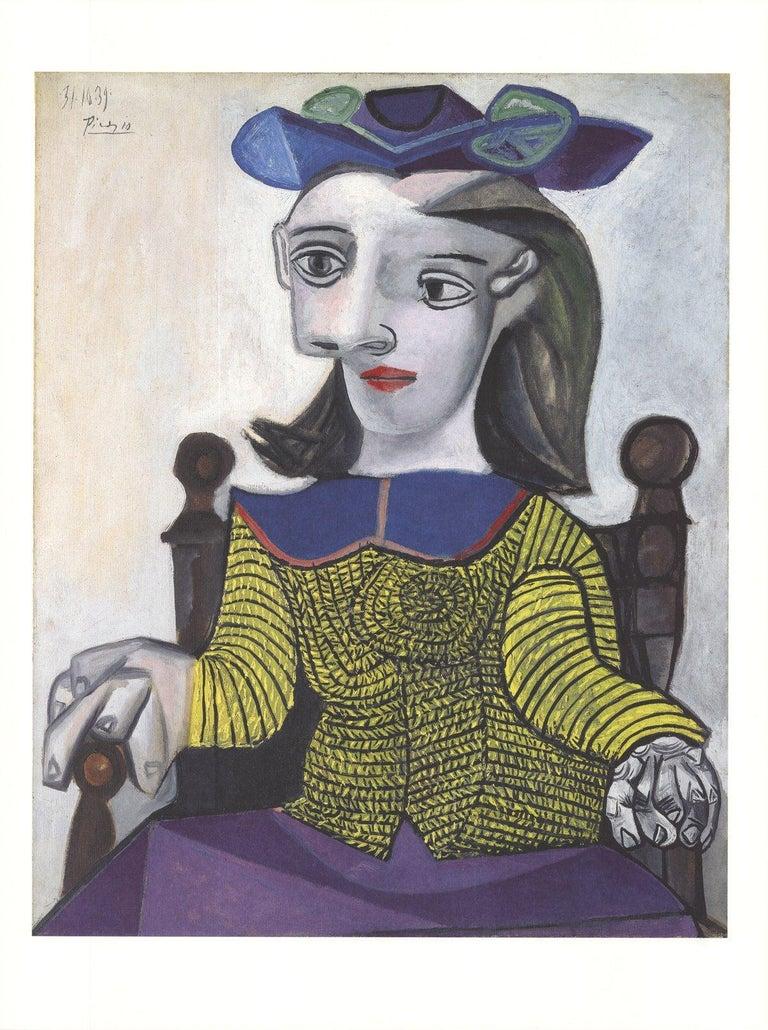 2014 Pablo Picasso 'Le Chandail Jaune' Cubism Germany Offset Lithograph - Print by Pablo Picasso