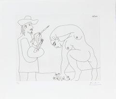 24.5.70 (24 Mai 1970) - Original Etching by P. Picasso - 1970