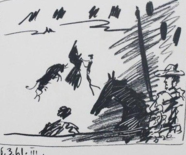A Los Toros Avec Picasso (Set of Four) For Sale 1