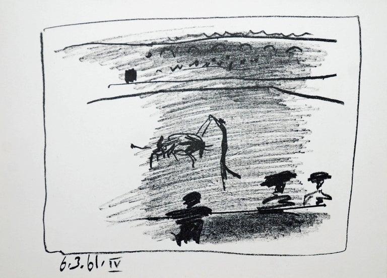 A Los Toros Avec Picasso (Set of Four) For Sale 2